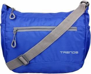 5e843aa1e3 ADIDAS NEO Men   Women Casual Blue PU Sling Bag Blue - Price in ...