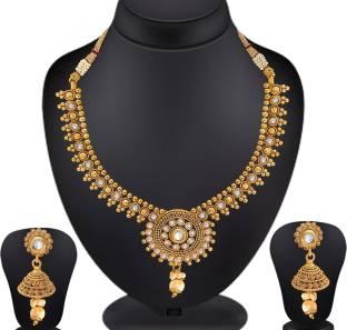 Spargz Brass Jewel Set
