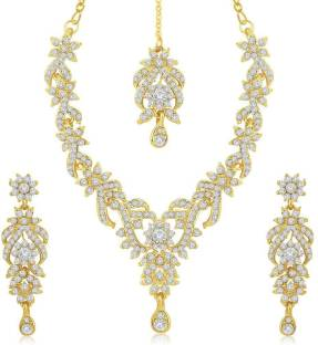 and crystal jewellery bridal zaphira pearl set p alexa