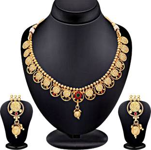 Spargz Brass Jewel Set