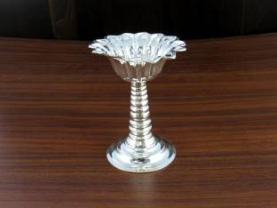 Lotusfeet Spirituality Lotusfeet Silver Plated Flowerpuja Offering
