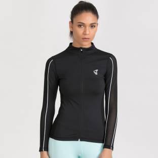 b4ec3e09d517 POISON IVY Full Sleeve Solid Women s Jacket - Buy POISON IVY Full ...