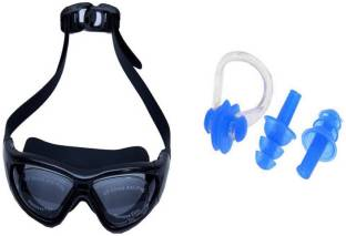 ba625fab51e3 Credence Combo of Premium Goggle and Ear Plug or Nose Clip Swimming Kit
