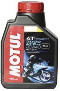 MOTUL 3000 4T Plus 20W-40 HC-Tech Conventional Engine Oil