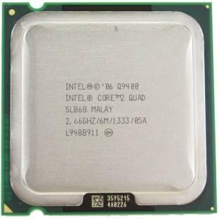 Intel Core 2 Quad Processor Q9400 2.66 LGA 775 Socket 4 Cores Desktop Processor