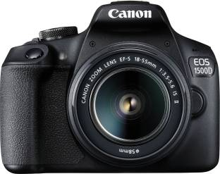 Canon EOS 1500D DSLR Camera Single Kit with 18-55 IS II lens