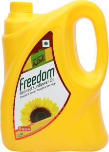 Freedom Refined Sunflower Oil Can