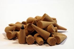 SR Crafts Incense Cones Pack of 30 Fountain Cones, Buddha Cones, Backflow Cones, Inscence Sticks, Incense Cones