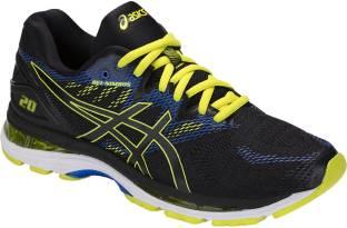 c9de684eb5f Asics GEL-NIMBUS 20 Running Shoes For Men - Buy BLACK/SULPHUR SPRING ...