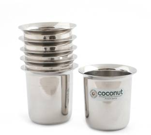 COCONUT (Pack of 6) D 11 No. 6.5 Glass Set