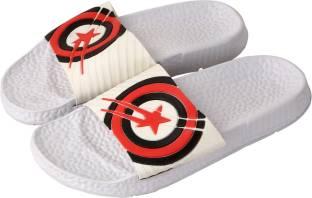 a4c5433e66ff2e Falcon18 Men s Slide Slippers and Flip-Flops In Captain America Design  Slides