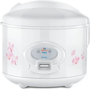 BAJAJ Majesty New RCX21 delux. Electric Rice Cooker with Steaming Feature