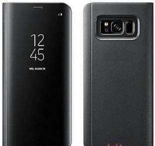Marshland Flip Cover for Samsung S9 Plus Sensor Luxury Clear