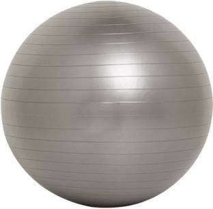 fitguru EXERCISE GYM BALL 85 CMS GREY WITH FOOT PUMP Gym Ball