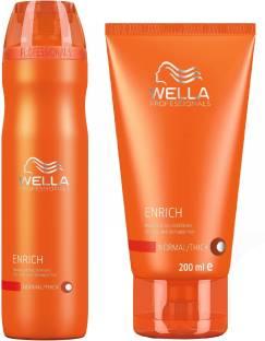 00cc12c3daa Wella Professionals Enrich Moisturizing Shampoo (250ml) + Conditioner  (200ml)