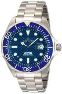 f1ecac7edc4 Invicta Blue 8355 Invicta Men s Pro Diver Stainless Steel Blue Carbon Fiber  Dial Watch Watch -