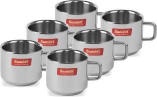 Sumeet CUPSMALL6 Stainless Steel Coffee Mug