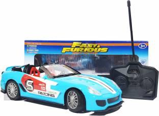 Jack Royal Fast & Furious R/c Car Royal Blue California