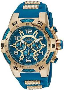 58abf0c5571f6 Invicta blue4908 Invicta Men s  Speedway  Quartz Stainless Steel and  Silicone Casual Watch