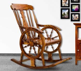 Fantastic Adlakha Furniture Rocking Chair Solid Wood 1 Seater Rocking Ibusinesslaw Wood Chair Design Ideas Ibusinesslaworg