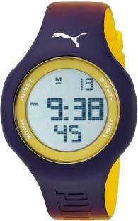 fdb1da40c1a7 Puma Black7201 PUMA Unisex PU910801038 Loop Digital Display Analog Quartz  Purple Watch Watch - For Men