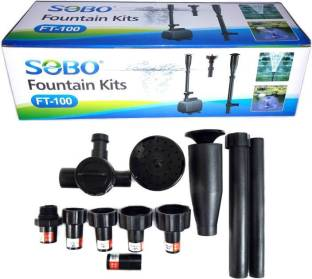 SOBO Water Fountain Kits FT-100 | (Pump Not Included) | Extension for fountain pump | Water Ring Water Aquarium Pump