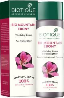 BIOTIQUE Bio Mountain Ebony vitalizing serum for falling hair