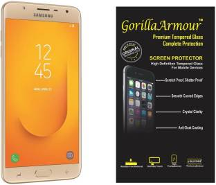 Gorilla Armour Tempered Glass Guard for Samsung Galaxy J7 Duo