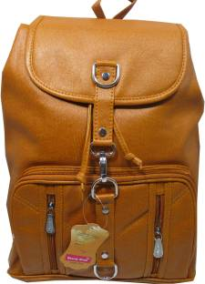 c218e28f5b70 Rahmanbags Beautiful backpack for girls. 24 L Backpack Brown - Price ...