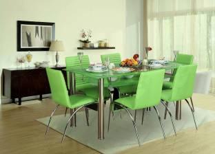 HomeTown Metal 6 Seater Dining Set