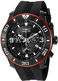 bcf1cf0ca6f Invicta Black17658 Invicta Men s 19825 Pro Diver Analog Display Swiss  Quartz Black Watch Watch - For