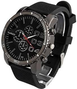21c253ab1662 ShoppeWatch black22218 ShoppeWatch Mens Black Wrist Watch Large F..