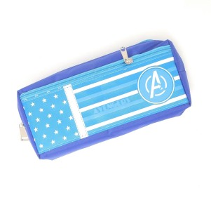 DUDE PERFECT BLACK ZIPPED PENCIL CASE MAKE UP BAG SPORTS TEAM YOUTUBE VIDEOS