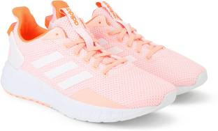 9a09dd22abd ADIDAS CF QT RACER Running Shoes For Women - Buy Pink Color ADIDAS ...