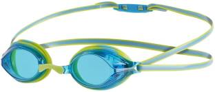 8ef1a07184ff Speedo VENGEANCE GOGGLE JUNIOR - LIME PUNCH JAPAN BLUE Swimming Goggles
