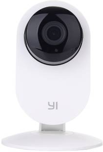 YI White 87001 1 Channel Home Security Camera
