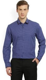 Peter England Men's Printed Formal Spread Shirt