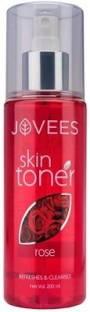 JOVEES Skin Toner, Rose Men & Women