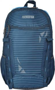 1ddc28ecf6102 American Tourister AMT Tech Gear 21 L Laptop Backpack Blue - Price ...