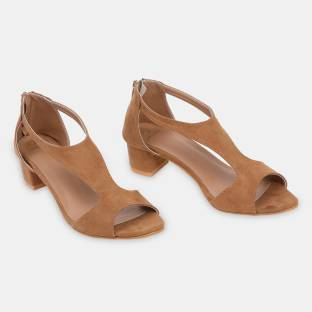 Cara Mia Women Tan Heels