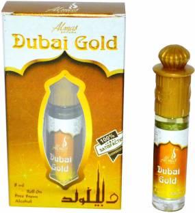 Almas DUBAI GOLD Special pocket Herbal Attar