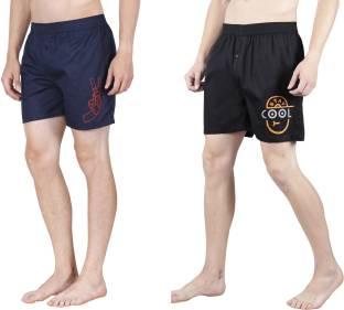 32a8829772 Marks & Spencer Solid Men's Boxer - Buy Grey Marks & Spencer Solid ...