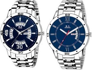 e75d6da83 R S Original RSO-4039 DAY AND DATE BLUE WATCH FOR MEN Watch - For Men
