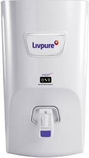 LIVPURE liv-pep-pro+(white) 7 L RO + UV Water Purifier