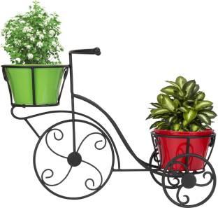 Trustbasket 3 Tier Vertical Gardening Pot Stand With 3 Rectangular