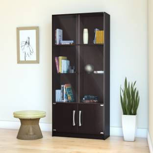 Bookshelf buy bookshelves online at best prices in india perfect homes by flipkart engineered wood close book shelf fandeluxe Gallery