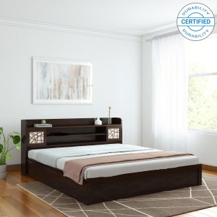 Awesome Spacewood Mayflower Engineered Wood King Bed With Storage