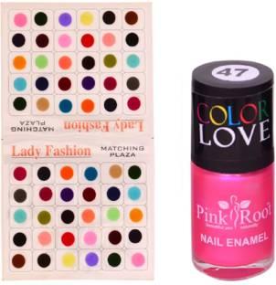 Faces Go Chic Lipstick Pinked Out +Magneteyes Kajal+Splash Nail ... 0ef69167de