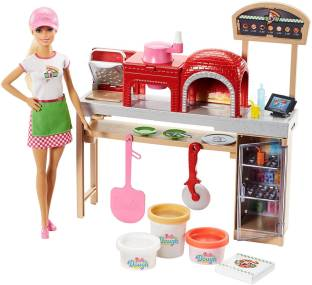 Barbie Pizza Chef Doll And Playset Pizza Chef Doll And Playset