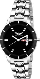 722f85772 Lois Caron LCS-7008 BLACK DIAL DAY   DATE FUNCTIONING Watch - For ...